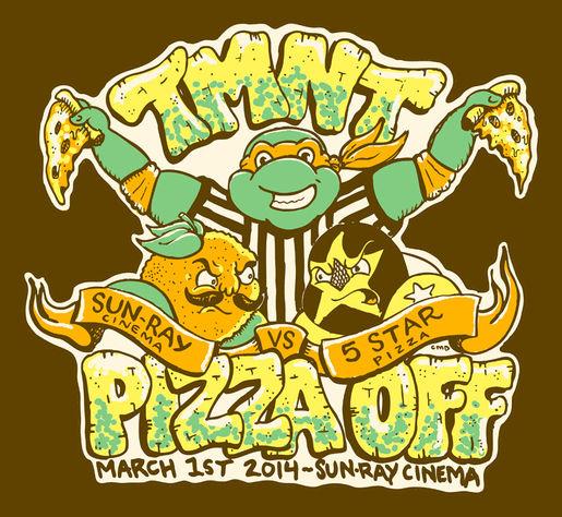 TMNT Pizza Off! 2014