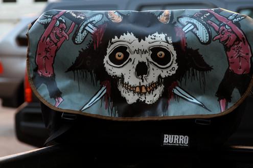 Custom Burro Messenger
