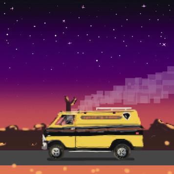 Cruising Van Gif