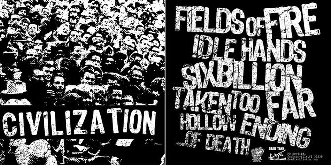 Civilization - album design & layout