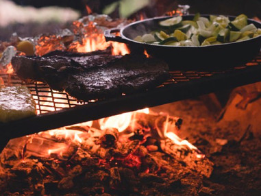 Enjoy our Outdoor Cooking experience