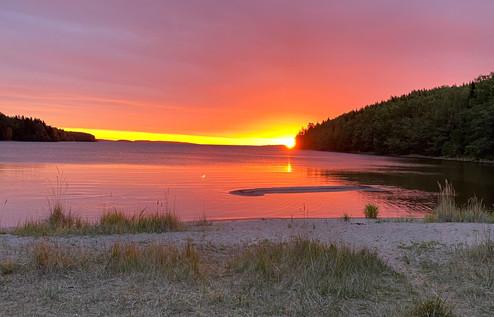 Sunrise at Kälsviken beach