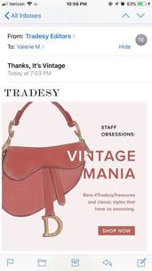 Tradesy Marketing
