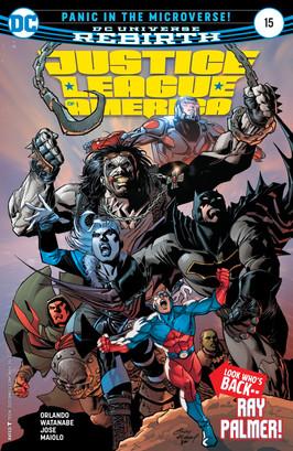 Liga da Justiça da América #15