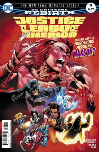 Liga da Justiça da América #9