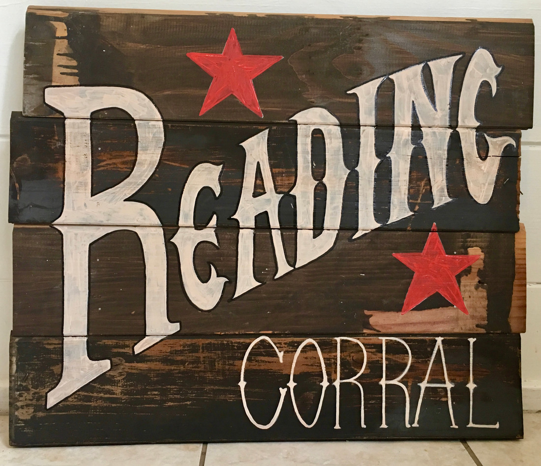 Reading Corral Sign