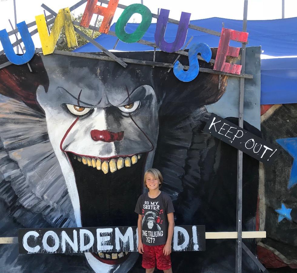 "Funhouse ""It"" Clown"