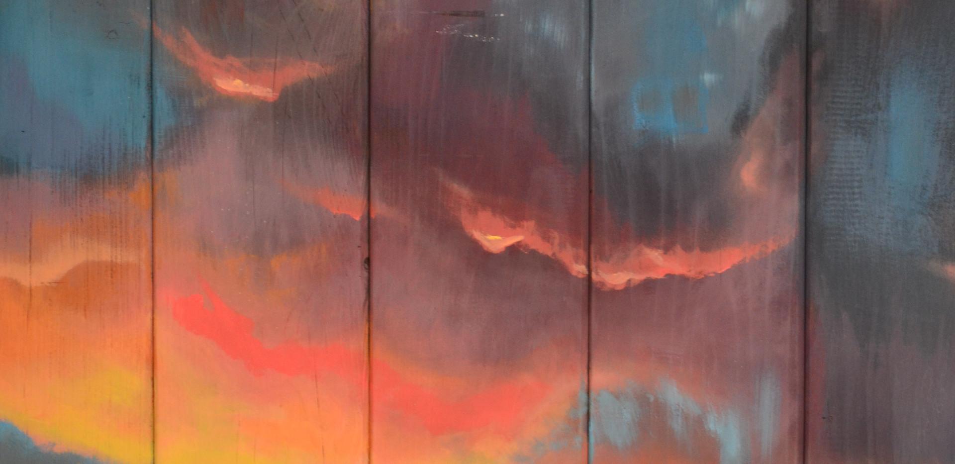 Pink Sunset Detail