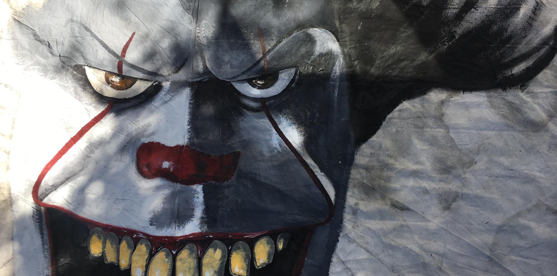 Halloween Carnival It Clown