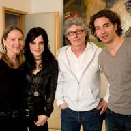 mit Stefanie Kloß und Andreas Nowak von Silbermond