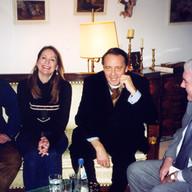 mit Gero von Boehm und Christoph Sieber-Rilke