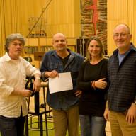 mit Manfred Honetschläger und Peter Siedlaczek