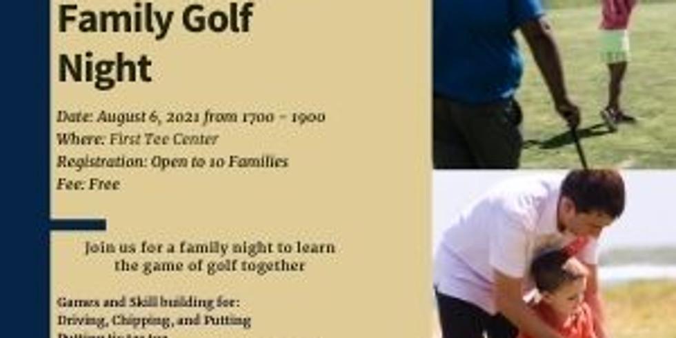 First Responder Family Golf Night