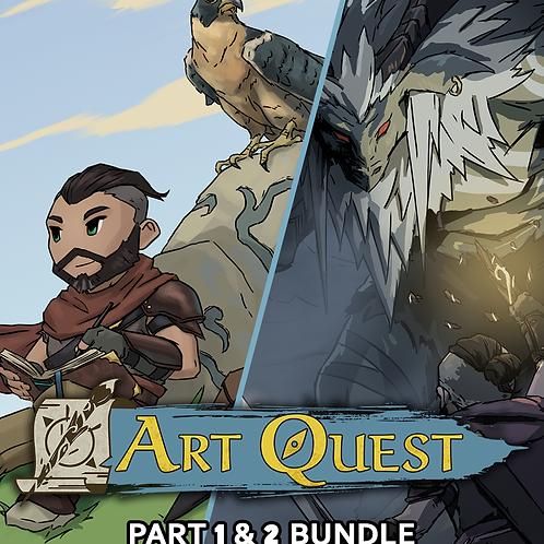 Art Quest Part 1 & 2 Bundle