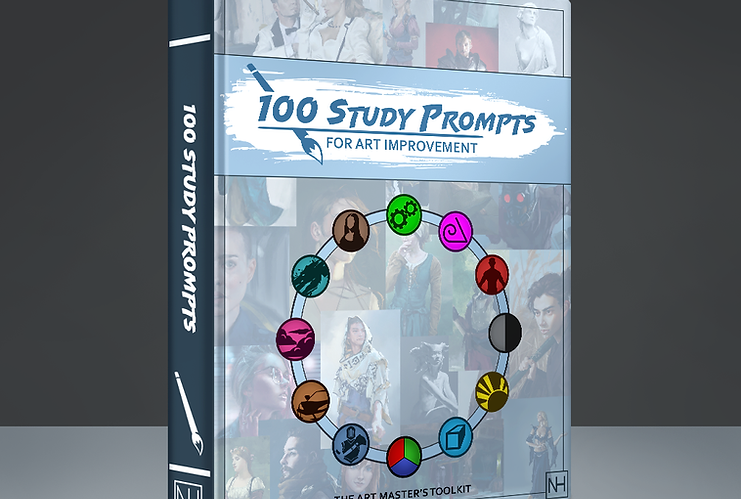 100 Study Prompts for Art Improvement