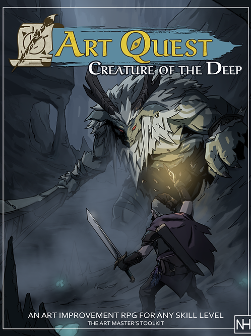 Art Quest- Creature of the Deep