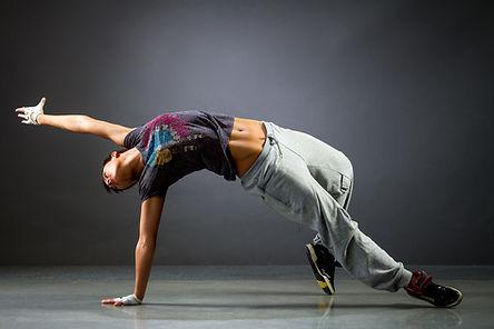 Tänzer-Haltung