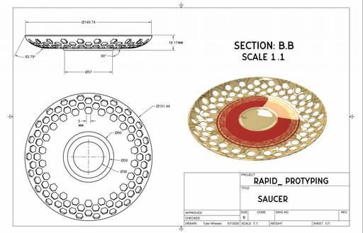 Saucer  Prototype