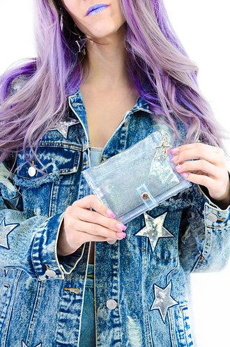 Glitter Goo Mini Wallet - Starlight