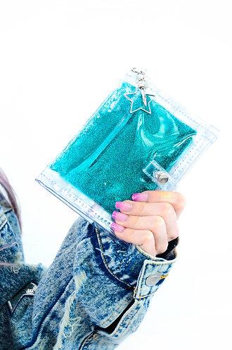 Glitter Goo Mini Wallet - Twilight