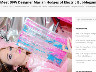Meet DFW Designer Mariah Hodges of Electric Bubblegum