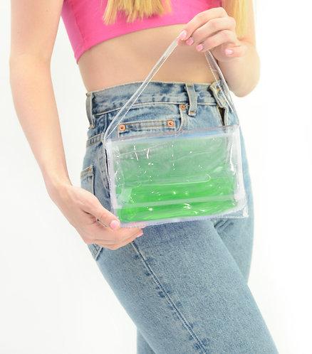 Green Liquid Mini Purse