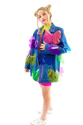 Fly Away With Me Denim Jacket