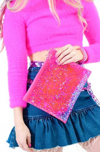 Liquid Glitter Make Up Bag - You Go Girl