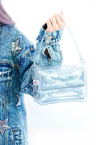 Glitter Goo Mini Purse - Starlight