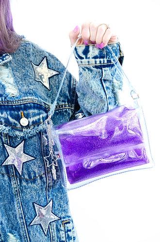 Glitter Goo Mini Purse - Moonlight