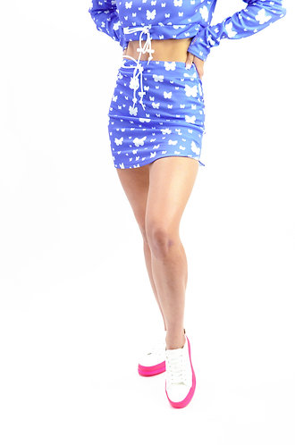 Butterfly Kisses Mini Skirt