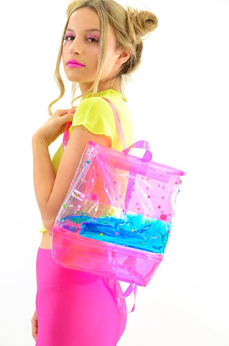 Day Dreamin in Gems Liquid Backpack