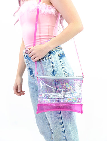 Sugar, Spice, and Everything Ice - Liquid Glitter Purse