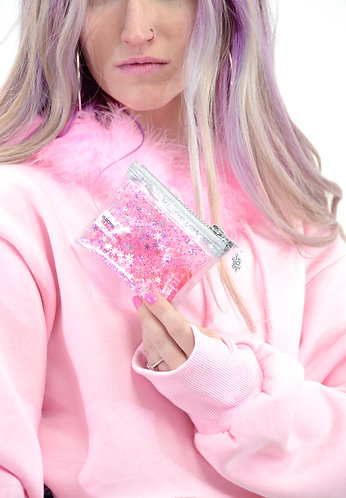 Liquid Glitter Coin Purse - Sugar, Spice and Everything Ice