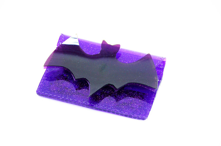 Feelin' Spooky Cardholder with Liquid Glitter
