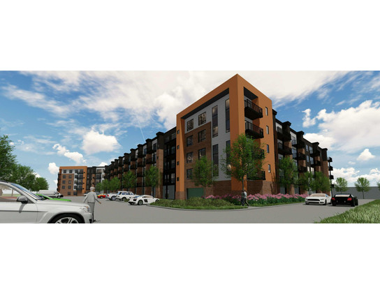 Multi-Family, 5 Levels, 1 Building, 400,610 SF
