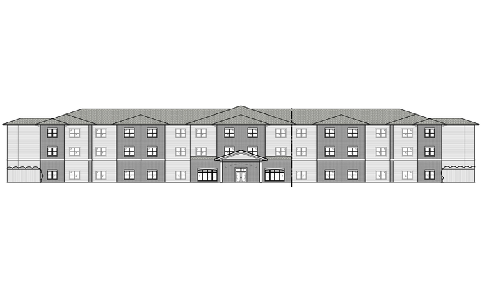 Multi-Family, 3 Levels, 1 Buildings, 48,043 SF