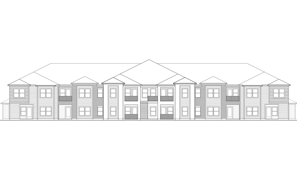 Multi-Family, 2 Levels, 4 Buildings, 74,616 SF