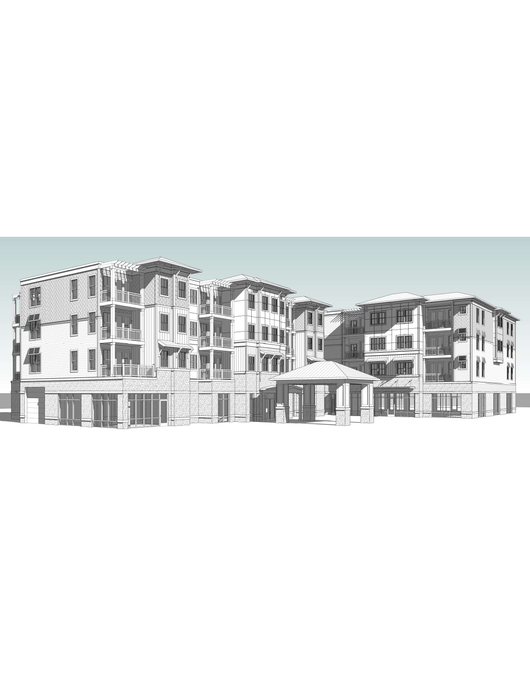 Multi-Family, 4 Levels, 4 Buildings, 197,284 SF