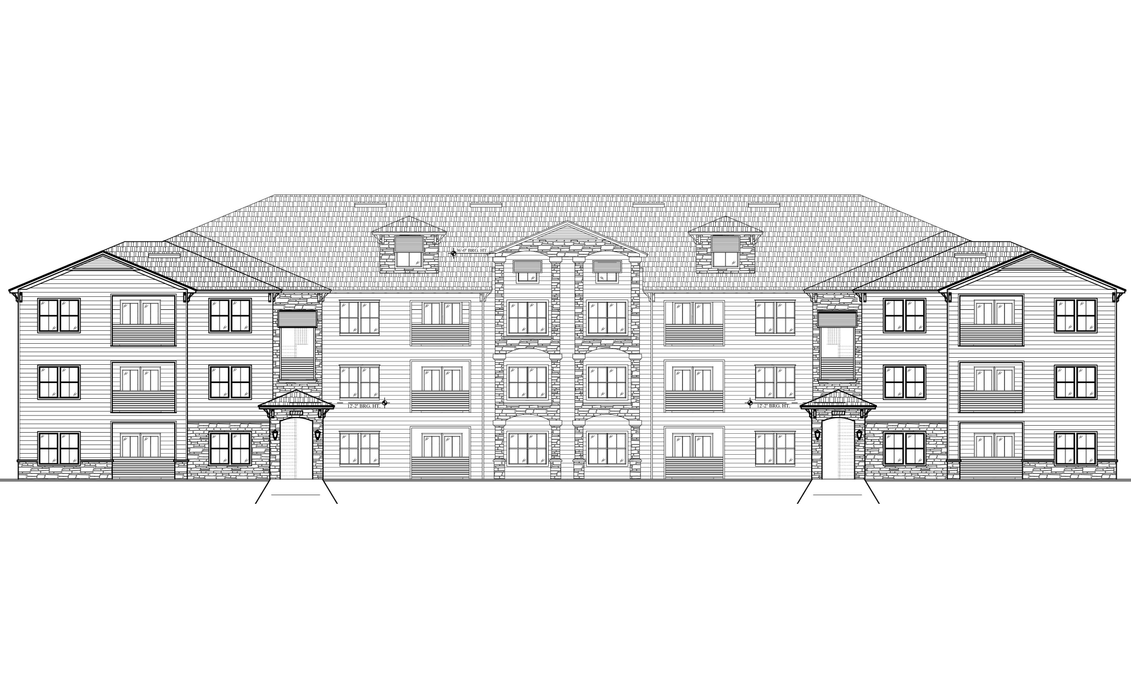 Multi-Family, 3 Levels, 5 Buildings,  317,686 SF