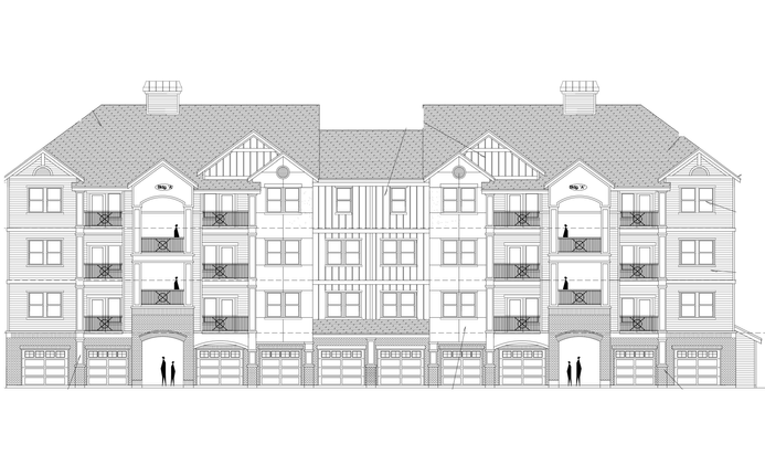 Multi-Family, 3 Levels, 6 Buildings, 222,539 SF