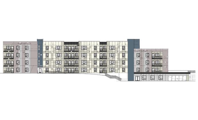 Multi-Family, 4 Levels, 1 Building, 163,168