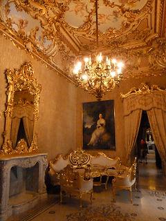 Palazzo Parisio -  A baroque salon