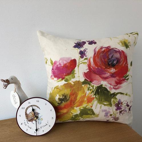 Rose Designer Cushion Cover