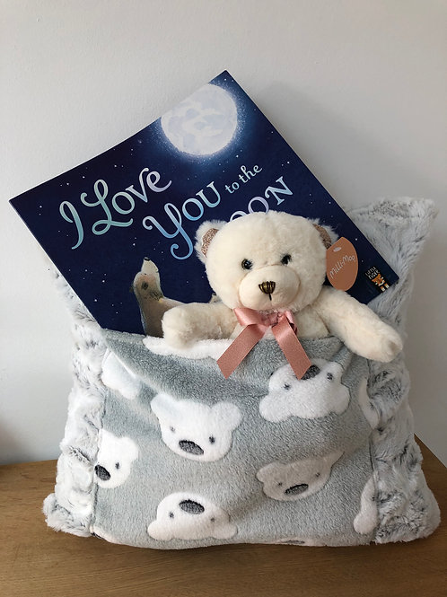 Teddy Bear Snuggle Cushion