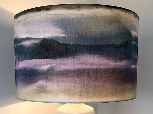 40cm Blue toned sky effect voyage shade