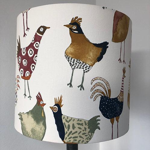 Harriet Funky Chicken Fabric