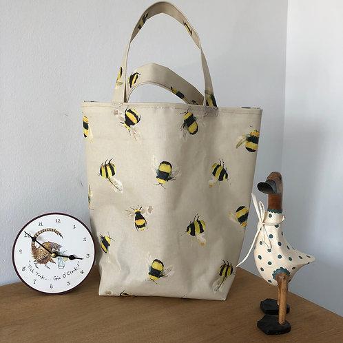 Shopper Oilcloth Bag