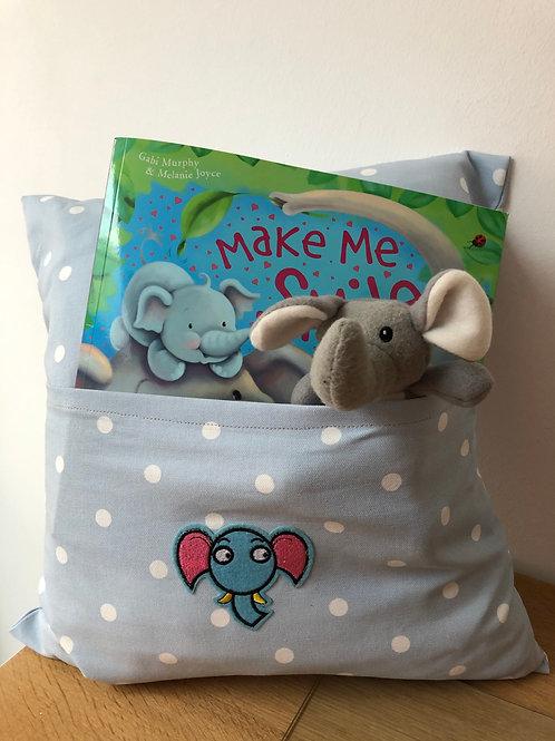 Elephant Snuggle Cushion