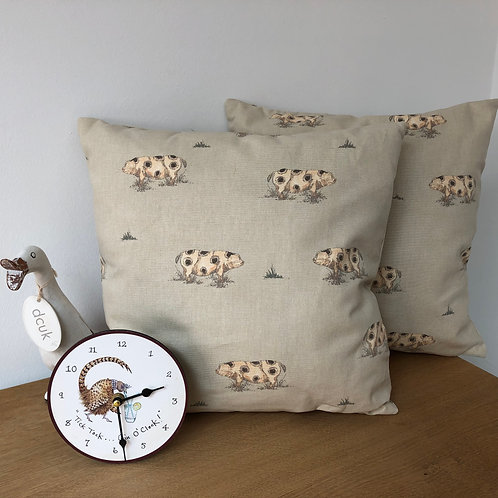 Spotty Pig Cushion Covers